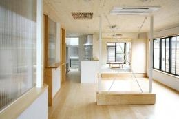 I邸・広がりのある心地よい住まいにリノベーション (LDK-広がりのある空間)