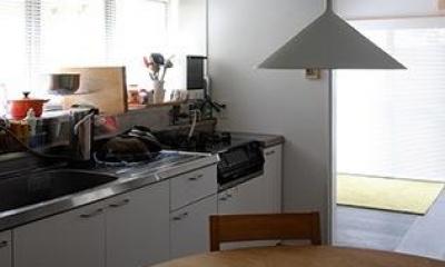 ダイニングキッチン|『上足洗の家』豊かな住まい、居心地の良い住まいへリノベーション