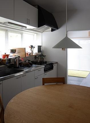 『上足洗の家』豊かな住まい、居心地の良い住まいへリノベーションの部屋 ダイニングキッチン
