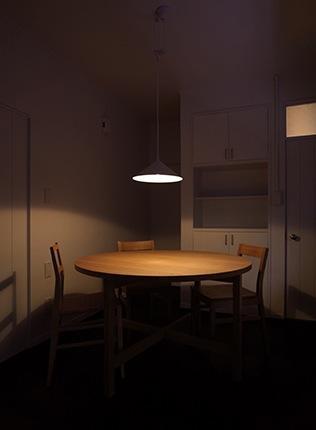『上足洗の家』豊かな住まい、居心地の良い住まいへリノベーションの部屋 落ち着いた雰囲気のダイニング