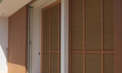 『豊田町の家 』心地よい距離感の二世帯住宅 (こだわりの木製建具)