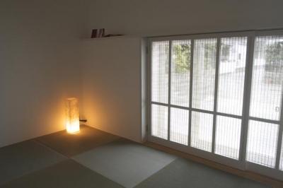 『豊田町の家 』心地よい距離感の二世帯住宅 (和室)