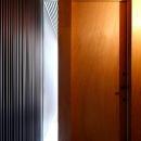 採光に配慮した玄関