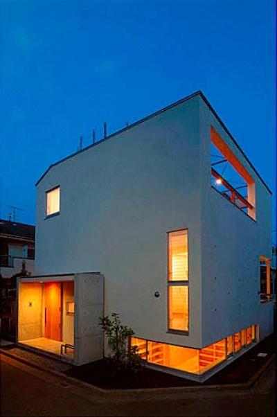 『ハラッパ』絶景の眺めを楽しめる草屋根のある家 (外観夜景)