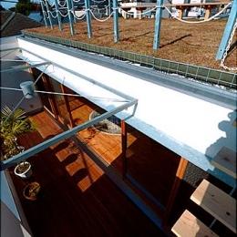 『ハラッパ』絶景の眺めを楽しめる草屋根のある家 (ルーフテラスから草屋根へとつながる)