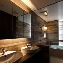 上質な雰囲気漂う洗面室・浴室