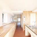 後藤智揮の住宅事例「『知事公館前の家』書家のためのおおらかで明るい空間づくり」