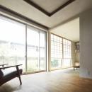 後藤智揮の住宅事例「二子新地の家 木造アパートの一階を庭を楽しめる住居兼事務所に|改修」