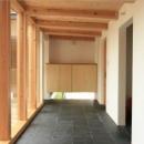 三浦正博の住宅事例「『多賀城のコートハウス』中庭を囲む2世帯住宅」