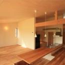 三浦正博の住宅事例「『白石の家』掘りごたつのある1.5層住宅」
