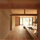 『白石の家』掘りごたつのある1.5層住宅