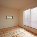 優しい光を取り込む個室