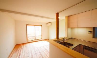 東京都新宿区・戸建てを自然素材の暖かさとお好みテイストで