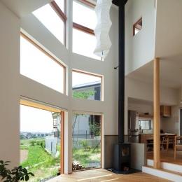 『はざまの家/The Frontier House』家族と自然をつなぐ家