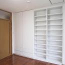 2階洋室-壁面収納