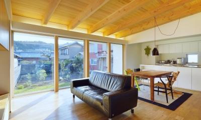 『蒲郡・西浦の家』時間がゆったり流れる寛ぎの平屋住宅