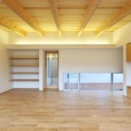 『蒲郡・西浦の家』時間がゆったり流れる寛ぎの平屋住宅 (明るく開放的なLDK)
