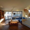 竹内 直樹の住宅事例「『名古屋・瑞穂区の家』不思議な奥行感のある住宅」