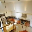 『名古屋・瑞穂区の家』不思議な奥行感のある住宅