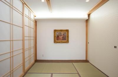 鵠沼松が岡の家 (和室)