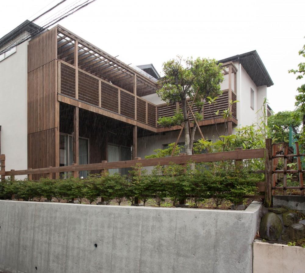 鵠沼松が岡の家 (外観南)