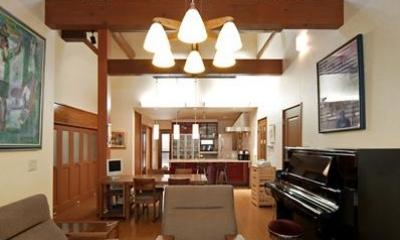 和風クラシックモダンな2世帯住宅
