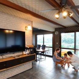 リノベーション・リフォーム会社 山商リフォームサービスの住宅事例「自然に囲まれた立地にこだわりの欧風空間を実現」