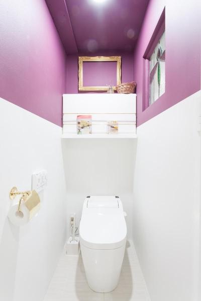 トイレ (共働き夫婦が選んだ三世代が集う家  家族が多くても散らからない スッキリした暮らし)