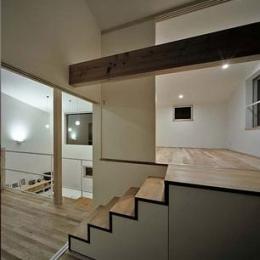 甲賀の家 (レベル差1.5mのスキップフロア)