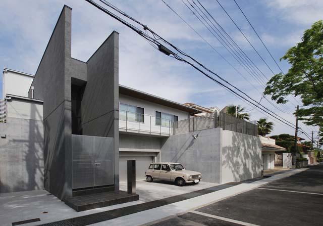 高野台CCHの部屋 プライベートコートをもつ中庭型住宅