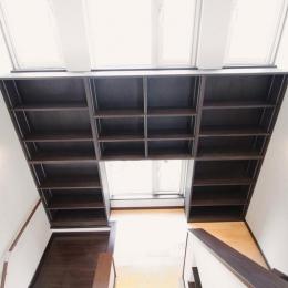 階段書斎のある家