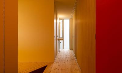 t house (廊下(撮影:© 村井 勇))