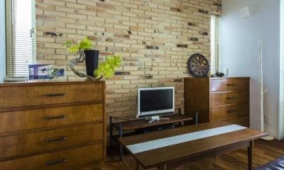 モダンな暮らし、美しい「白」を基調とした家