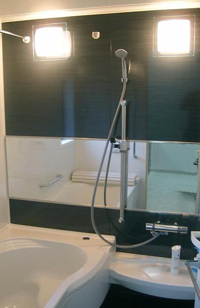 モダンな浴室 (「懐かしさ」と「新しさ」を感じるモダンデザイン)