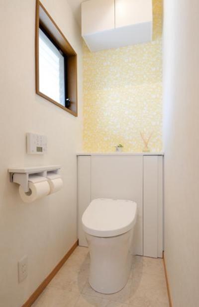 爽やかなトイレ (構造体まで補修したリフレッシュリフォーム)