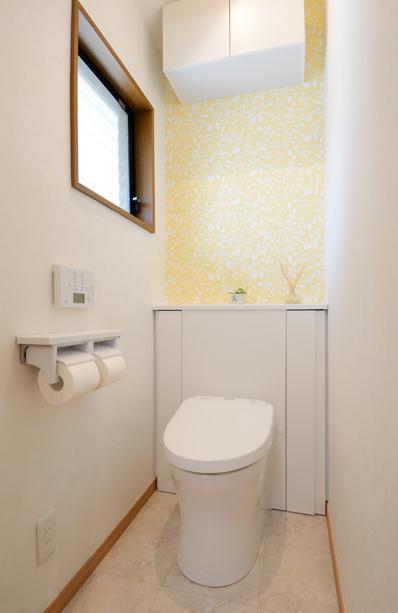 構造体まで補修したリフレッシュリフォームの部屋 爽やかなトイレ