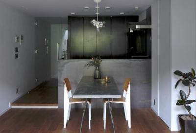 モダンヴィンテージの家 (キッチン)