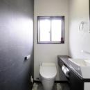 シックでお洒落なトイレ空間