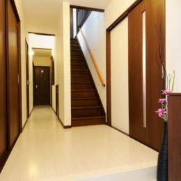 笑顔溢れるキッチンと光に包まれる安らぎのLDK (廊下・階段)