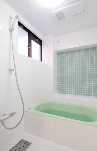 終の棲家としてこだわりの家作りの部屋 オリジナルデザインの浴室