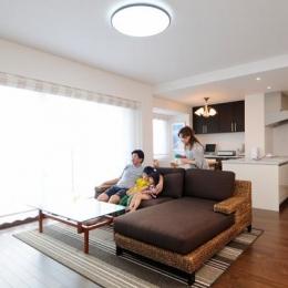 リノベーション・リフォーム会社 山商リフォームサービスの住宅事例「間取りの良さを引き出した開放的な住まいへ」
