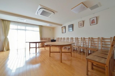 法事等で使用するスペース (お寺の庫裡の大規模スケルトンリフォーム)