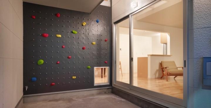 工務店:株式会社村松工務店「ボルダリングウォールのある遊び心いっぱいの家」