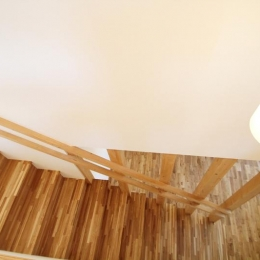 ハリーさんの家 (木を感じる階段)