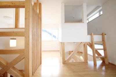小さな個室のある2階部屋 (ハリーさんの家)