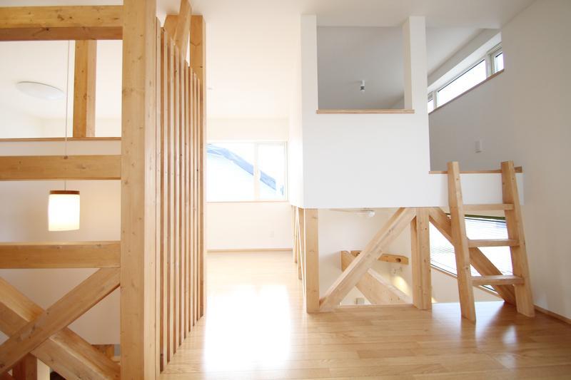 ハリーさんの家の写真 小さな個室のある2階部屋