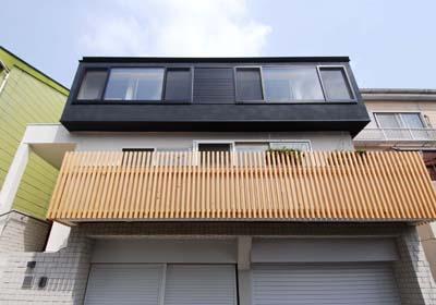 『奥沢の家』温かみ溢れる住まいへ全面リフォームの部屋 ファサード