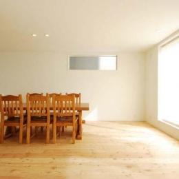 『奥沢の家』温かみ溢れる住まいへ全面リフォーム (温かみ溢れるリビングダイニング)