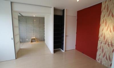 E6住戸-フラットタイプ|『collina』多様な価値感を受け入れるシンプルな箱
