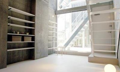 W4住戸-メゾネットタイプ|『collina』多様な価値感を受け入れるシンプルな箱